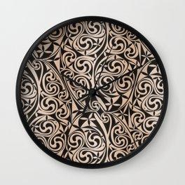 Celtic Warlord carbon Wall Clock