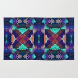 Abstract Patchwork Rug