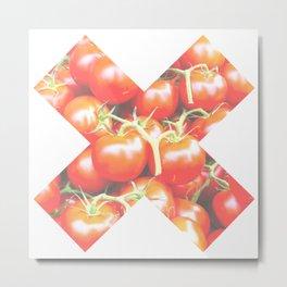 X Tomate Metal Print