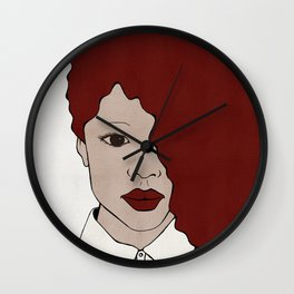 Female One Wall Clock