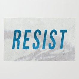 RESIST 2.0 - Blue #resistance Rug