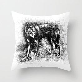Suburban Outlaw Throw Pillow