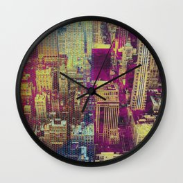 Pop New York Wall Clock