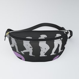 One vs One Cricket Player Sports Team Sport Fanny Pack