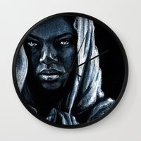 african Wall Clocks featuring African by elenachukhriy