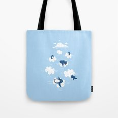 Puzzle Ice  Tote Bag