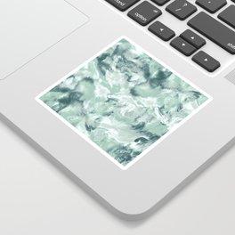 Marble Mist Green Grey Sticker