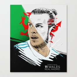 Gareth Bale Canvas Print
