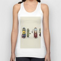 minion Tank Tops featuring Minion Avengers by CforCel