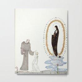 kay nielsen I am the Virgin Mary Metal Print