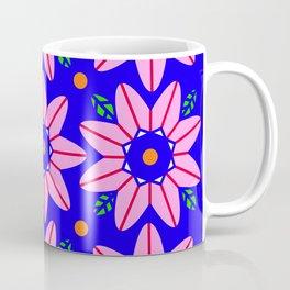 Flower Power 2 Klein Blue Coffee Mug