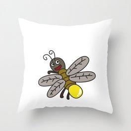 I'm Little T-shirt Design Throw Pillow