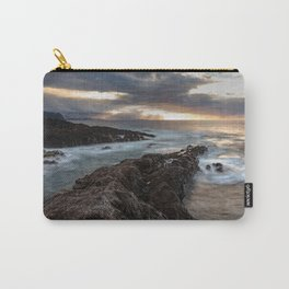 Long Exposure Sunset in El Sauzal Carry-All Pouch