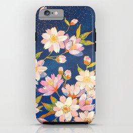 Sakura flower iPhone Case