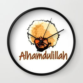 Khabib Time Wall Clock