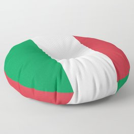 National Flag of Italy, High Quality Image Floor Pillow