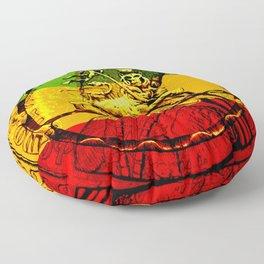 Lion of Judah Haile Selassie King of Kings Floor Pillow