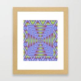 *Blue Heavens Doorway* Framed Art Print