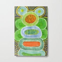 The filled Caterpillar Metal Print
