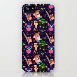 Childhood Chaos Meme  iPhone Case
