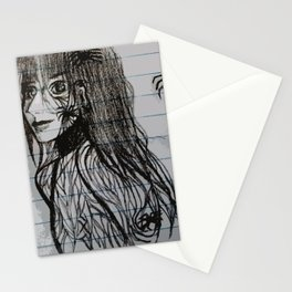 spider woman Stationery Cards