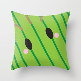 Cactuar Block Throw Pillow
