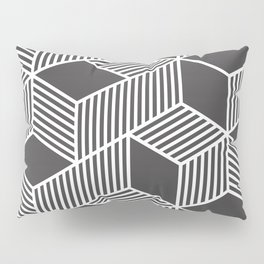 Geometric Cube 02 Pillow Sham
