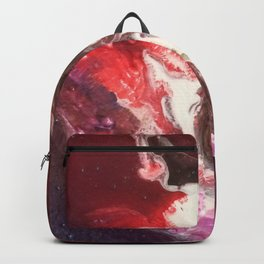The Exotic. From my Original Painting. Abstract, Space, Blue, Jodilynpaintings Backpack