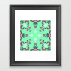 Coral Framed Art Print