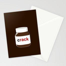 Chocolatey Crack Stationery Cards