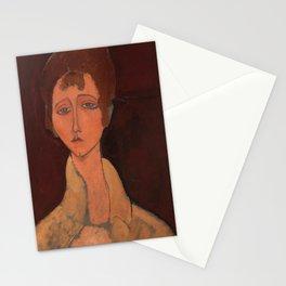 Amedeo Modigliani - Femme au corsage blanc Stationery Cards
