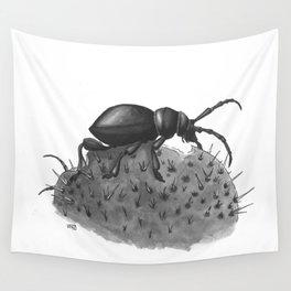 Inktobober 2016: Cactus Longhorn Beetle Wall Tapestry