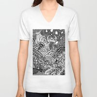 under the sea V-neck T-shirts featuring Under the sea by Ommou