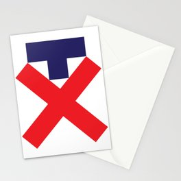 Trump. Not my pres. Classic. Stationery Cards