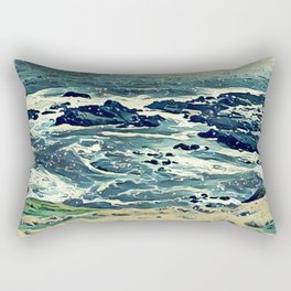 Coast of Australia Rectangular Pillow