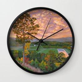 Welcome Center Wall Clock