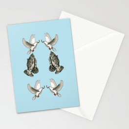Jesus Tattoo Flash Stationery Cards