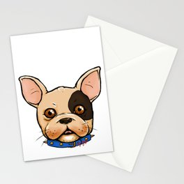 Frenchie Stationery Cards