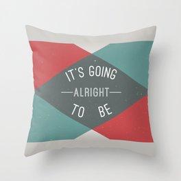 A Little Reminder Throw Pillow