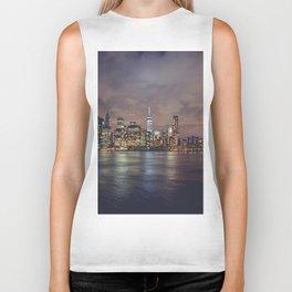 NYC Skyline Biker Tank