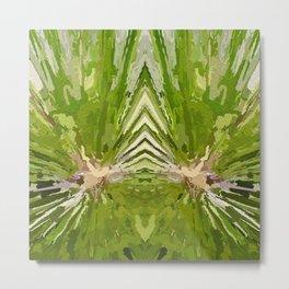 475 - Abstract garden design Metal Print