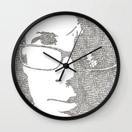 Hank Green Wall Clock