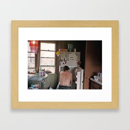 POWER OUTAGE Framed Art Print