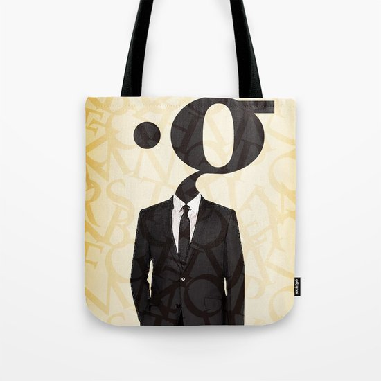 mr .g in a suit Tote Bag