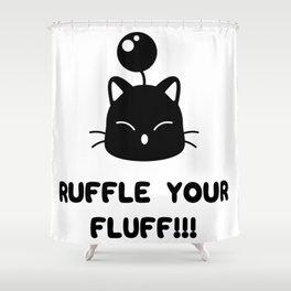 Ruffle your fluff!!! Shower Curtain