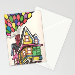 Up,Up & Away  Stationery Cards