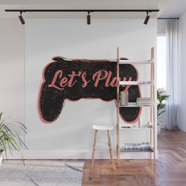 let's play joystick Wall Mural