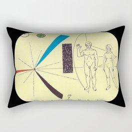 ...Ground Control.... Rectangular Pillow