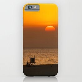 Classic SoCal Sunset iPhone Case