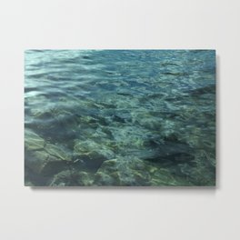 Waterwave Metal Print